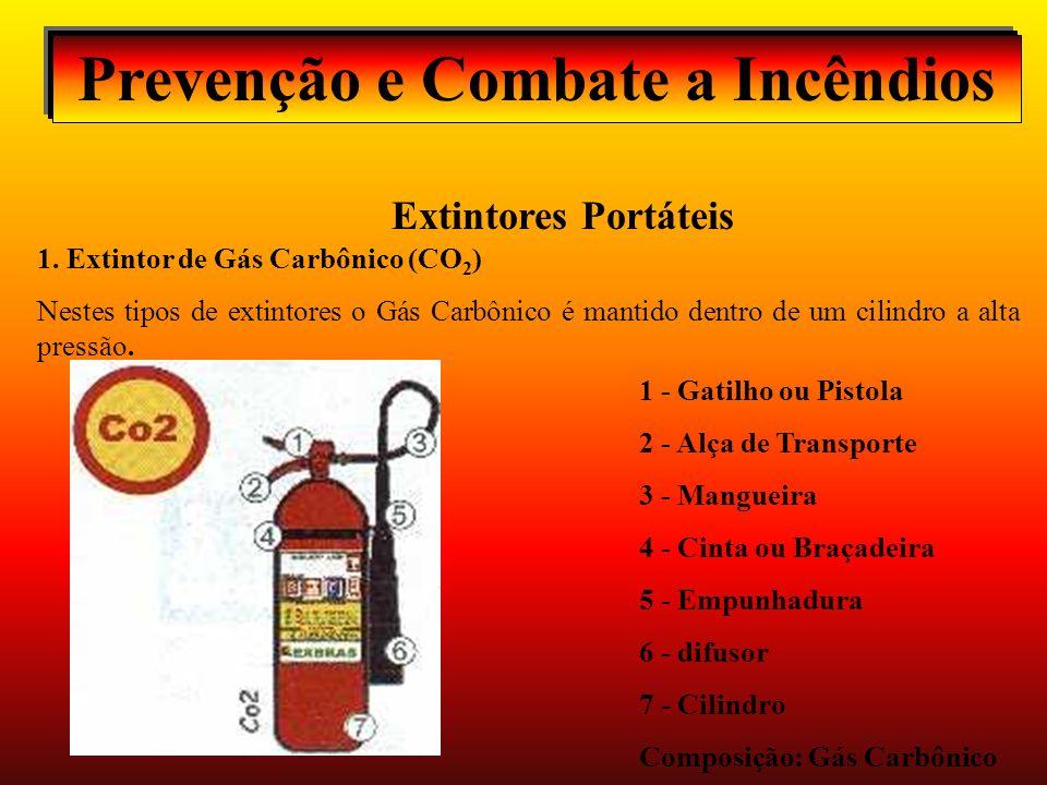 Prevenção e Combate a Incêndios Extintores Portáteis 1.