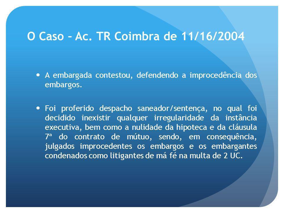 O Caso – Ac.