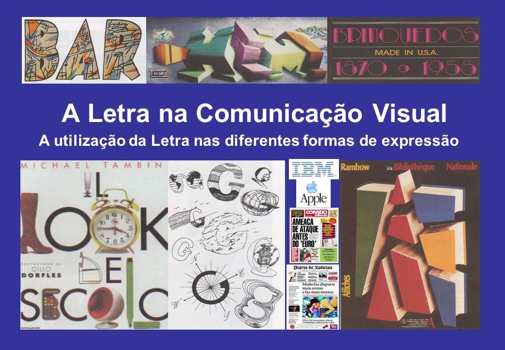 4 A letra pode ser classificada por: tipo Educação Tamanho Tecnológica Sentido Visual Cor/Volume E V T