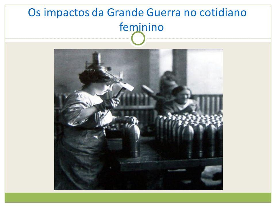 Os impactos da Grande Guerra no cotidiano feminino