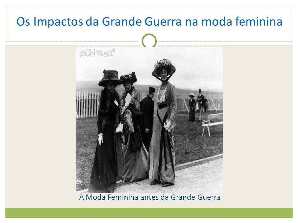 A Moda Feminina antes da Grande Guerra