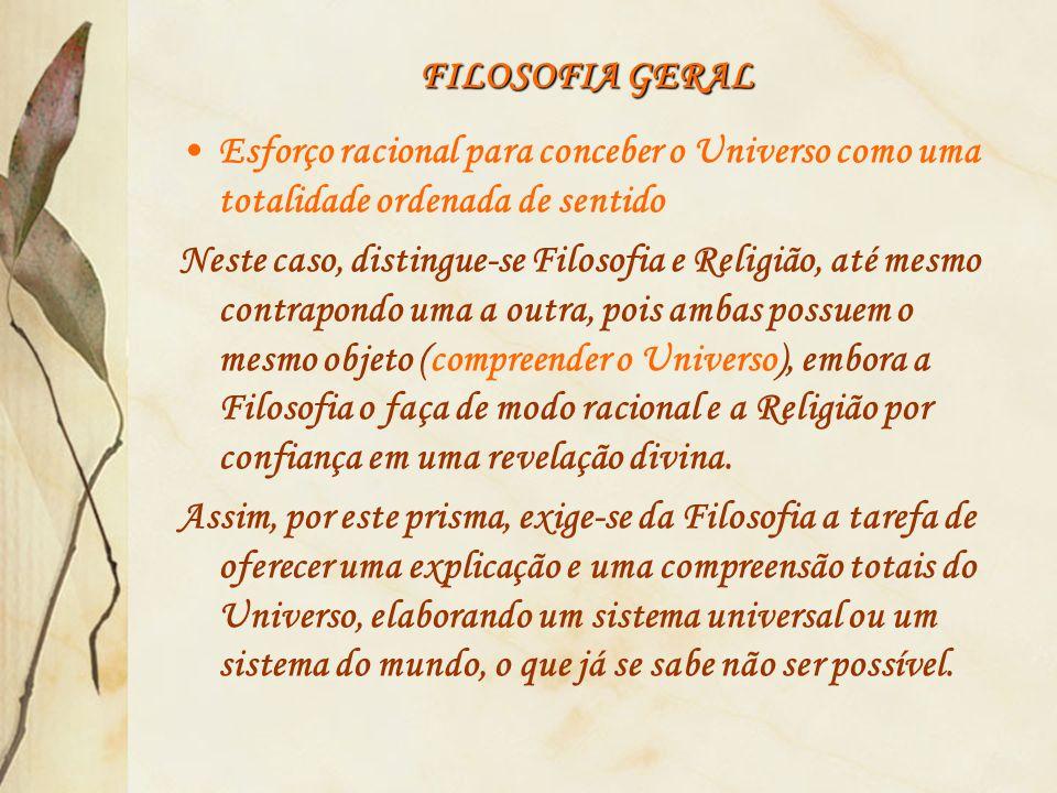 FILOSOFIA GERAL 2.