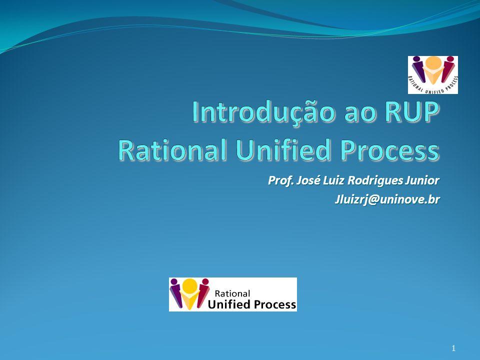 Prof. José Luiz Rodrigues Junior Jluizrj@uninove.br 1