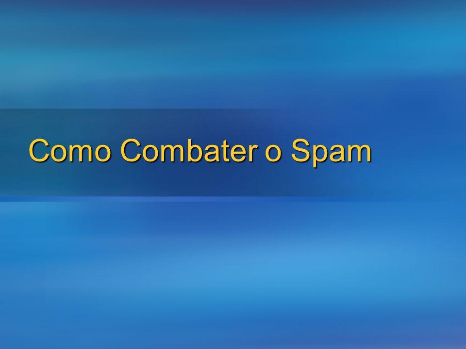 Como Combater o Spam