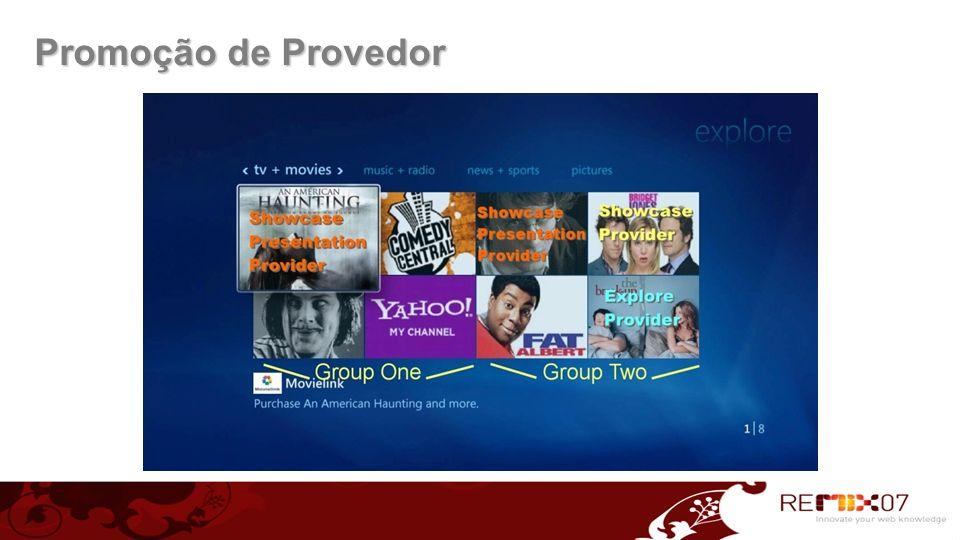Promoção de Provedor
