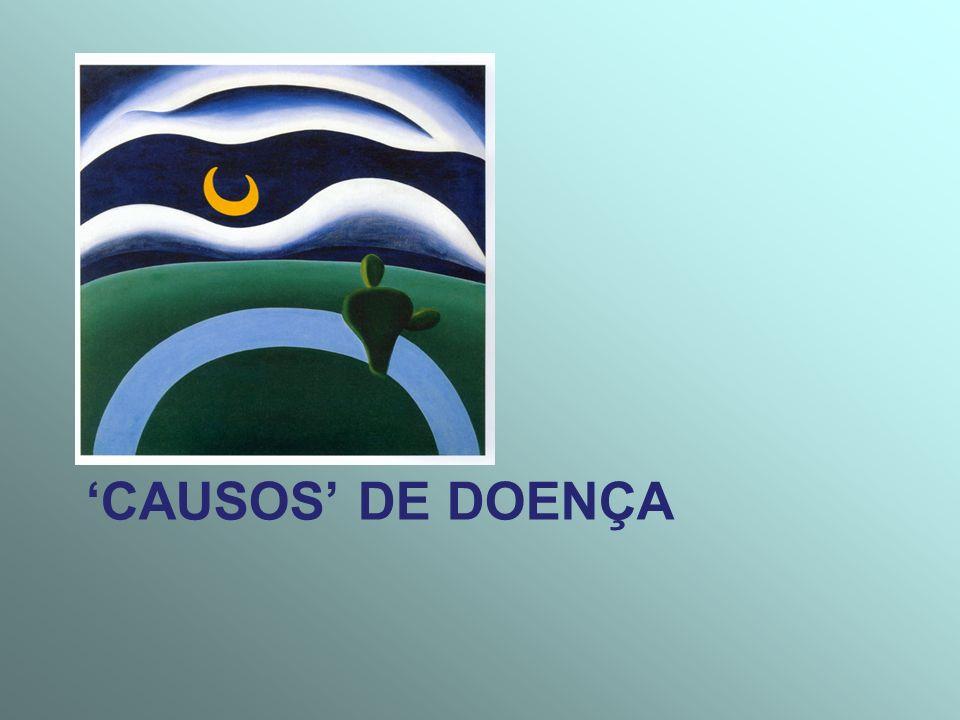 CAUSOS DE DOENÇA