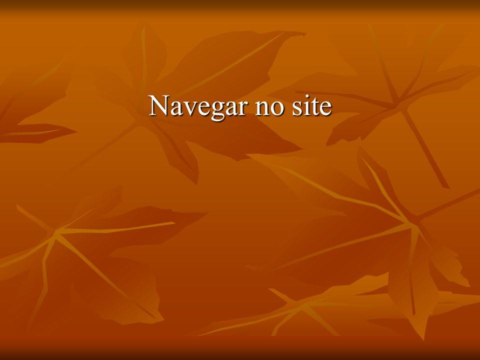 Navegar no site