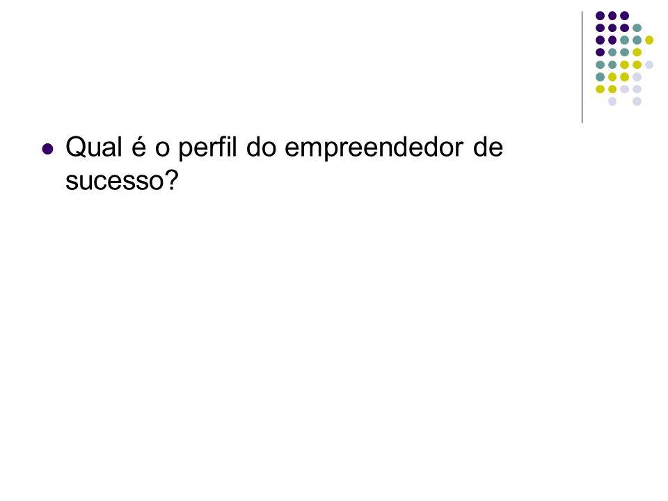 Qual é o perfil do empreendedor de sucesso?