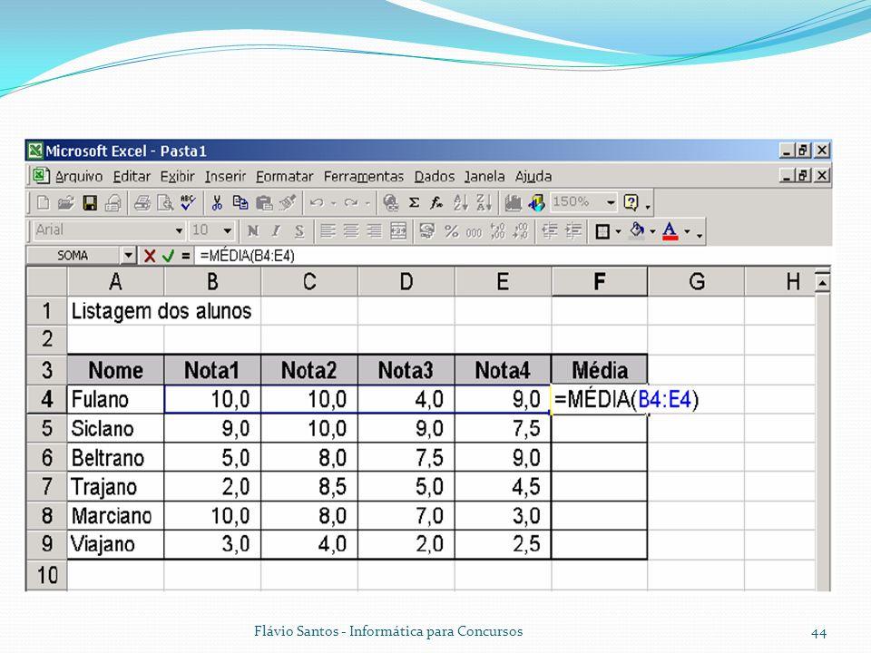 Flávio Santos - Informática para Concursos44