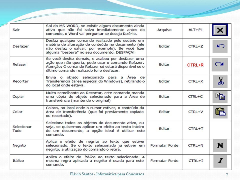 Flávio Santos - Informática para Concursos8 CTRL+G