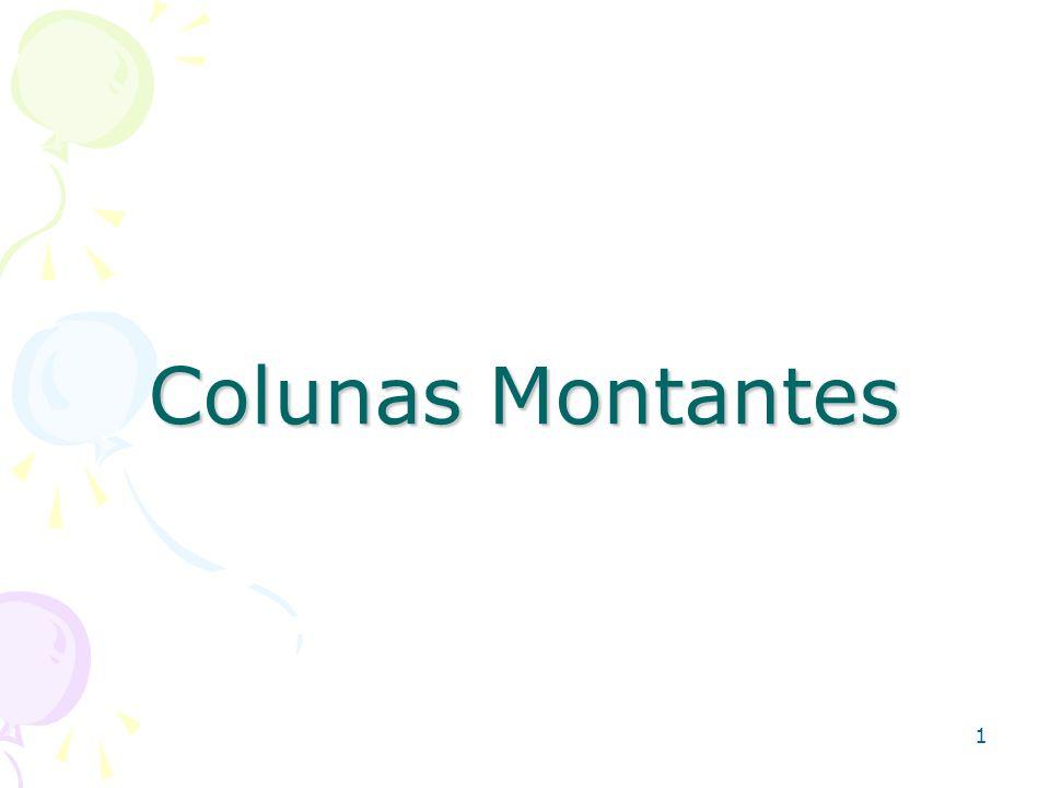 Colunas Montantes 1