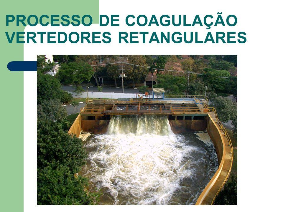 PROCESSO DE COAGULAÇÃO VERTEDORES RETANGULARES