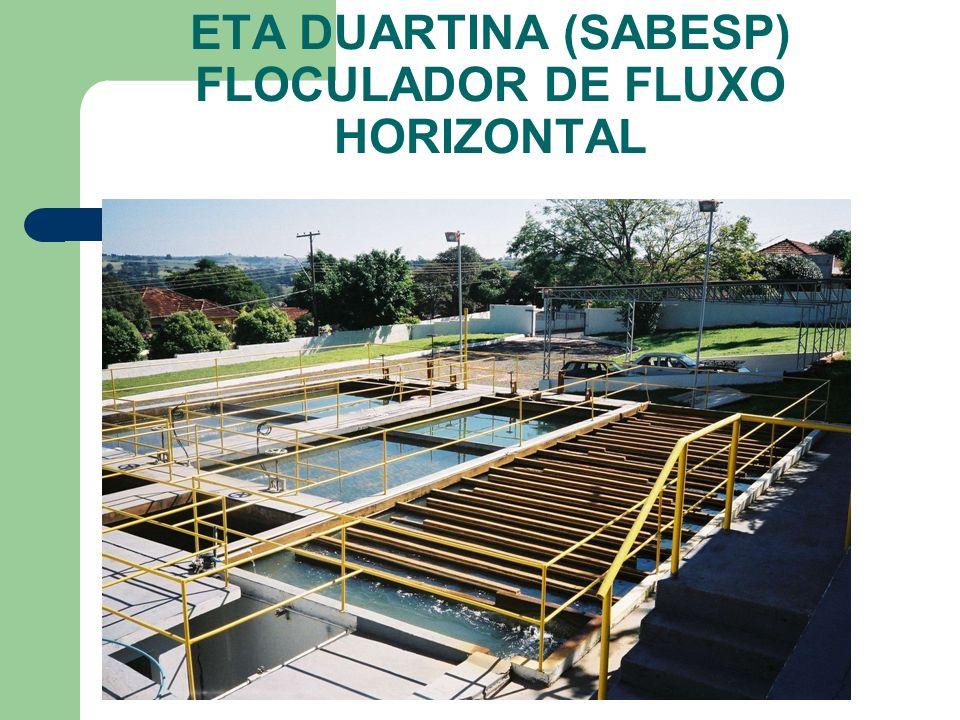 ETA DUARTINA (SABESP) FLOCULADOR DE FLUXO HORIZONTAL
