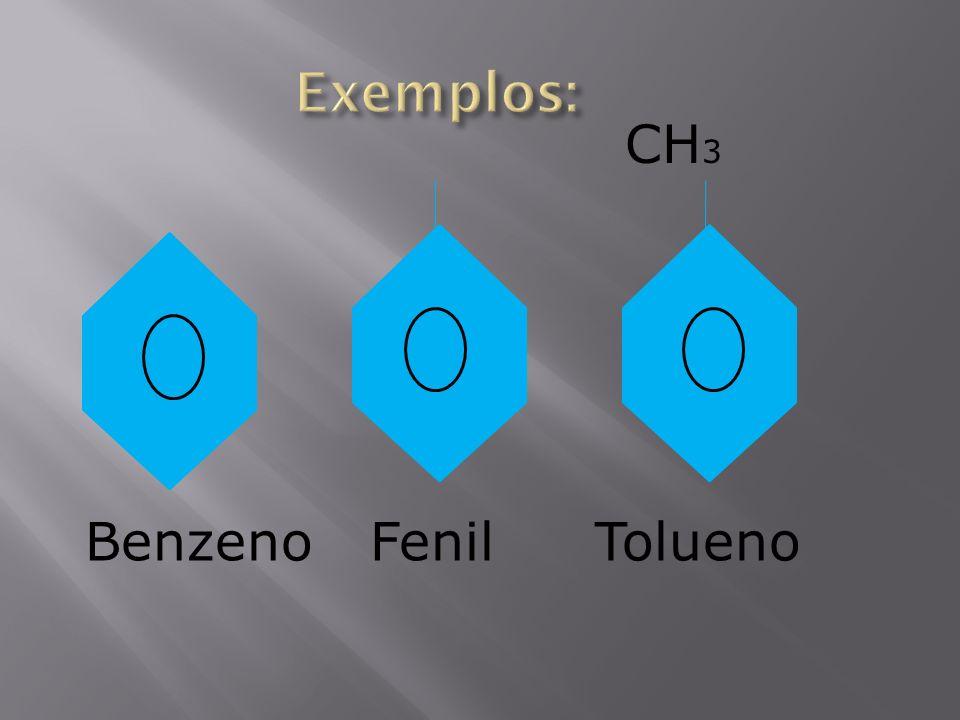 BenzenoFenil CH 3 Tolueno