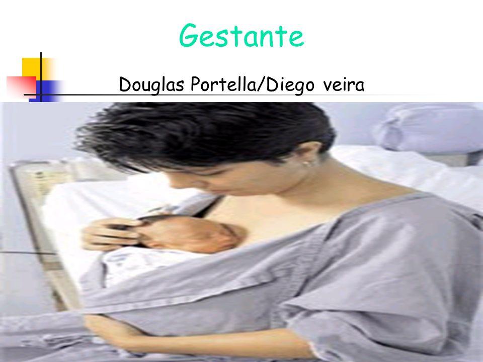 Gestante Douglas Portella/Diego veira