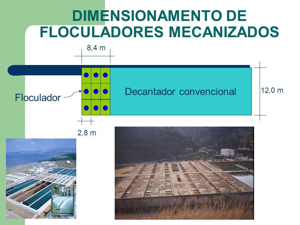 Canal de água coagulada CASA DE QUÍMICA LAY-OUT DE ETAs ASSOCIAÇÃO FLOCULADORES E DECANTADORES
