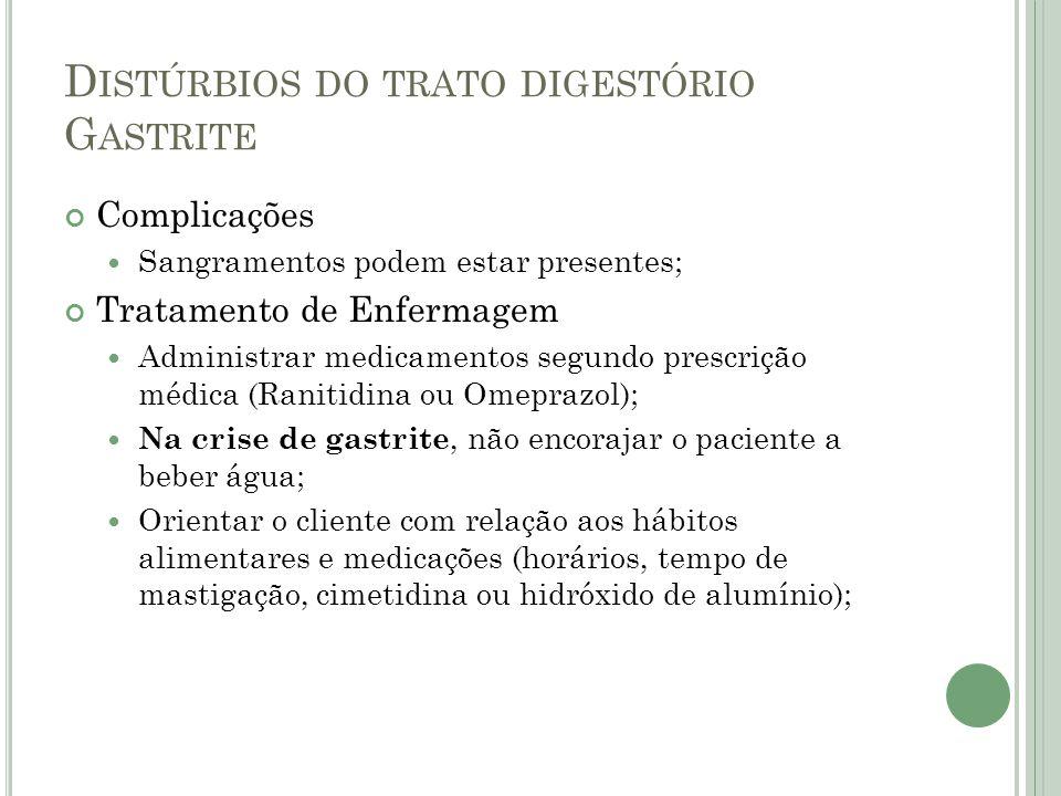 D ISTÚRBIOS DO TRATO DIGESTÓRIO ÚLCERA PÉPTICA Úlcera Péptica - Lesão cavitária na mucosa gástrica ou mesmo intestinal.