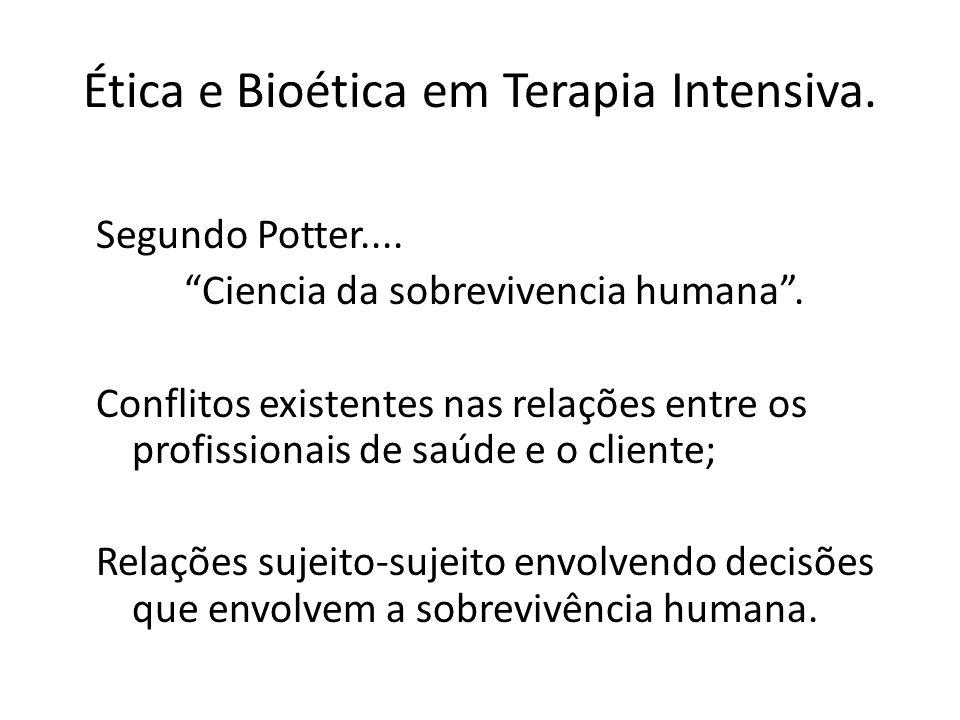 Ética e Bioética.....