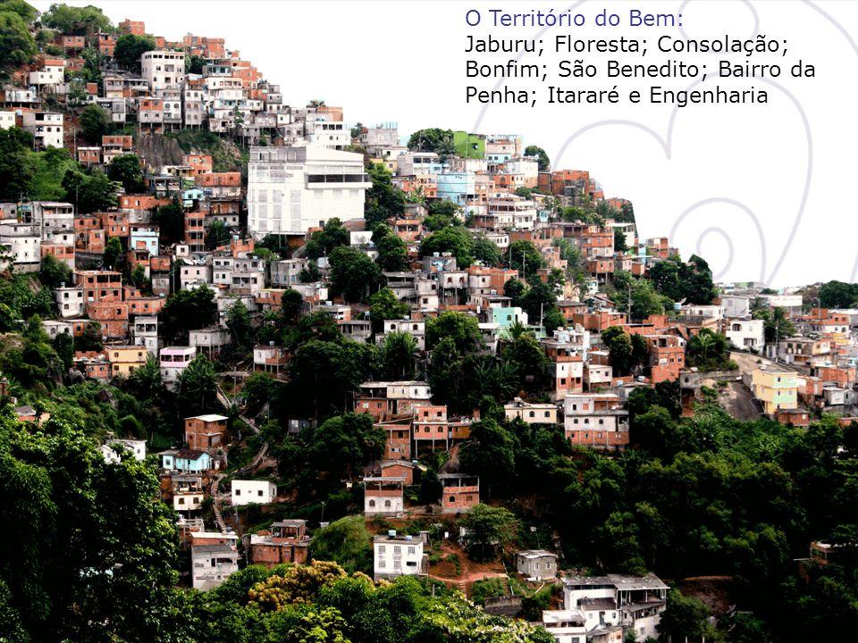 O Território do Bem: Jaburu; Floresta; Consolação; Bonfim; São Benedito; Bairro da Penha; Itararé e Engenharia