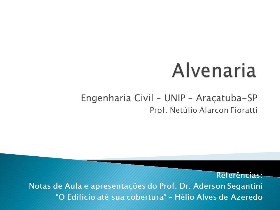 Engenharia Civil – UNIP – Araçatuba-SP Prof.