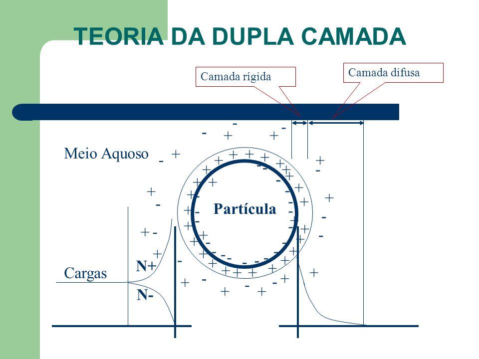 TEORIA DA DUPLA CAMADA