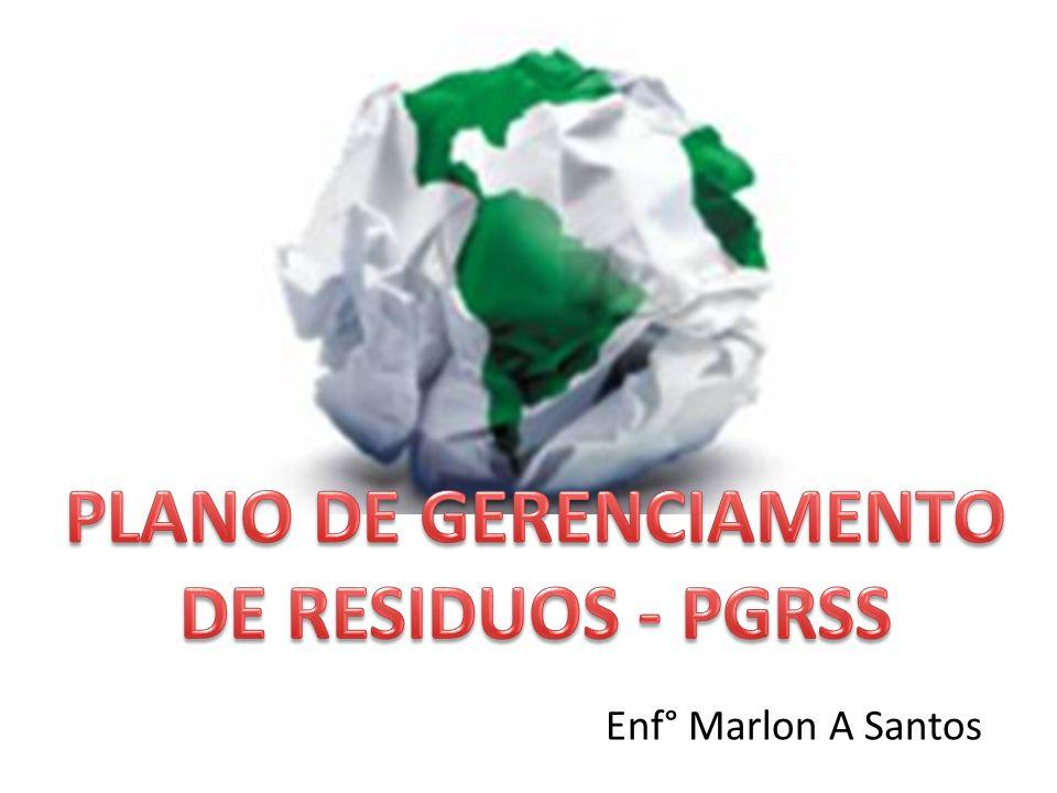 APRESENTAÇÃO Está aula tem como objetivo levar informações imprescindíveis sobre o Plano de Gerenciamento de Resíduos do Serviço de Saúde (PGRSS) – em concordância com a ANVISA (RDC-306/2004) e com CONAMA (RDC 358/2005).