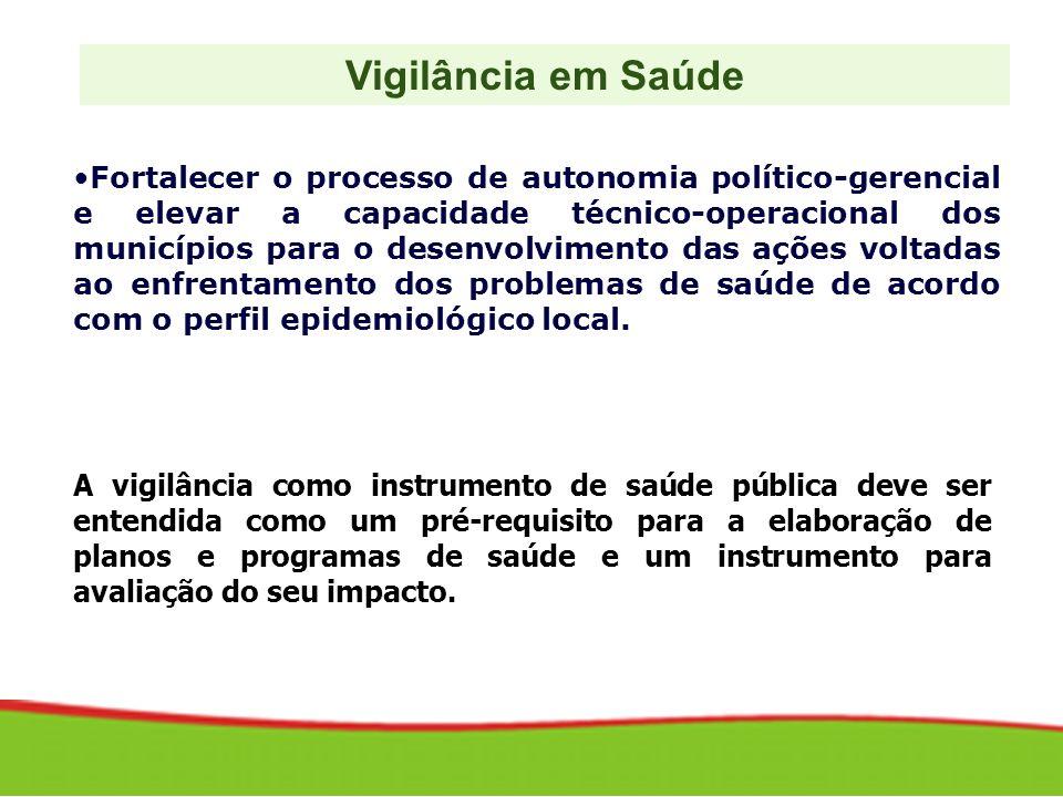 Fortalecer o processo de autonomia político-gerencial e elevar a capacidade técnico-operacional dos municípios para o desenvolvimento das ações voltad
