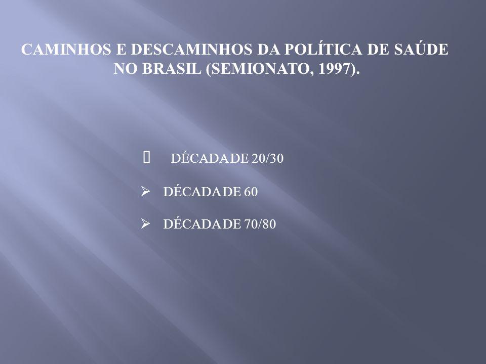 NOVAS RELAÇÕES ENTRE ESTADO E SOCIEDADE (DESIGUALDADES NO ACESSO À SAÚDE; CONSTITUIÇÃO DE 1988 – PRINCÍPIOS DE UNIVERSALIDADE, EQÜIDADE, UNIFORMIDADE E EQUIVALÊNCIA, IRREDUTIBILIDADE DOS VALORES DOS BENEFÍCIOS, GESTÃO DEMOCRÁTICA DESCENTRALIZADA E PARTICIPATIVA.
