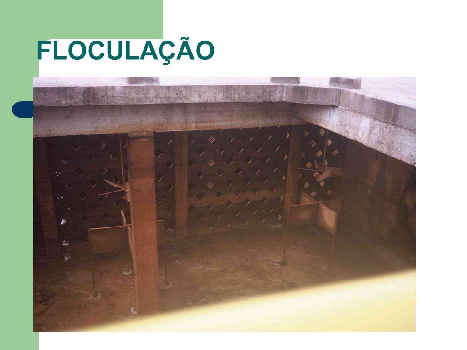 FILTRAÇÃO Perda de carga em sistemas de filtração Fluidificação e expansão de meios filtrantes Lavagem de meios filtrantes Dimensionamento de sistemas de filtração