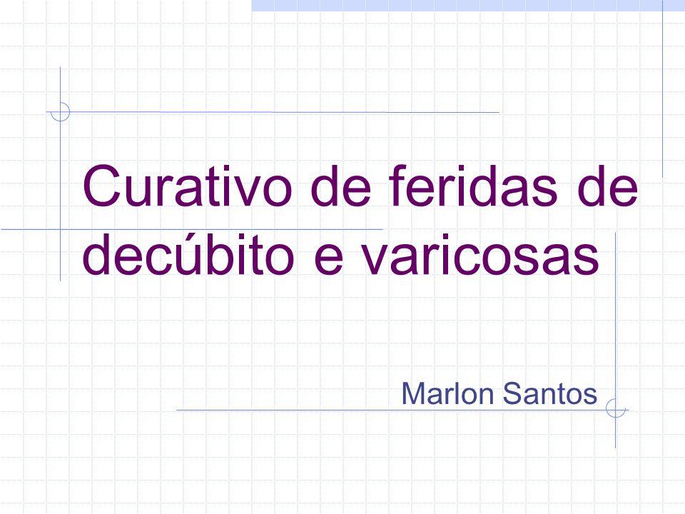 Curativo de feridas de decúbito e varicosas Marlon Santos