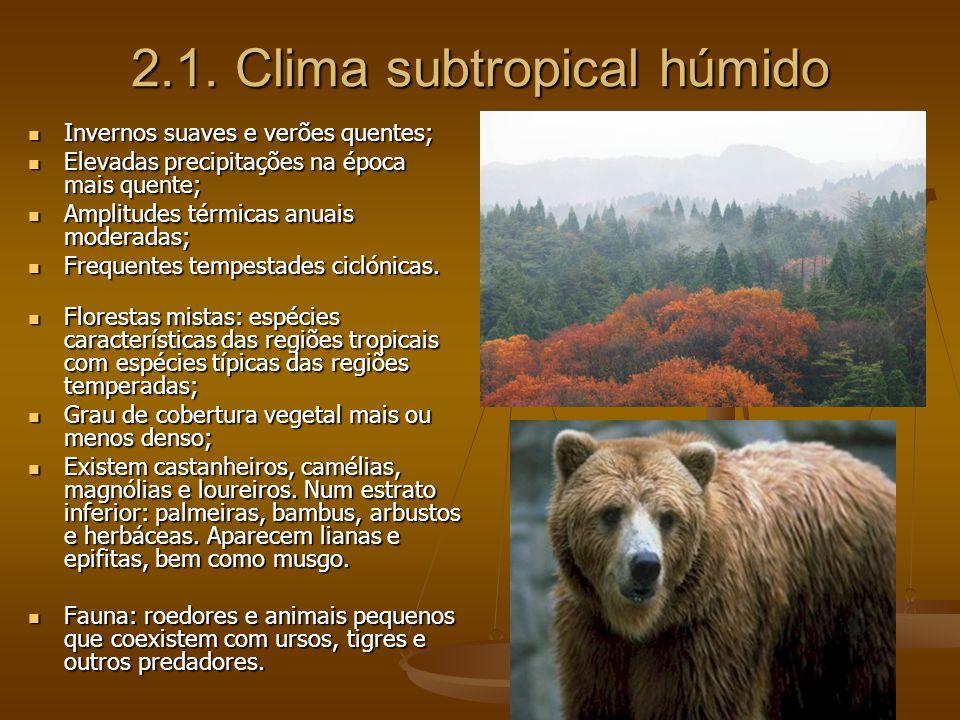 II - CLIMAS TEMPERADOS