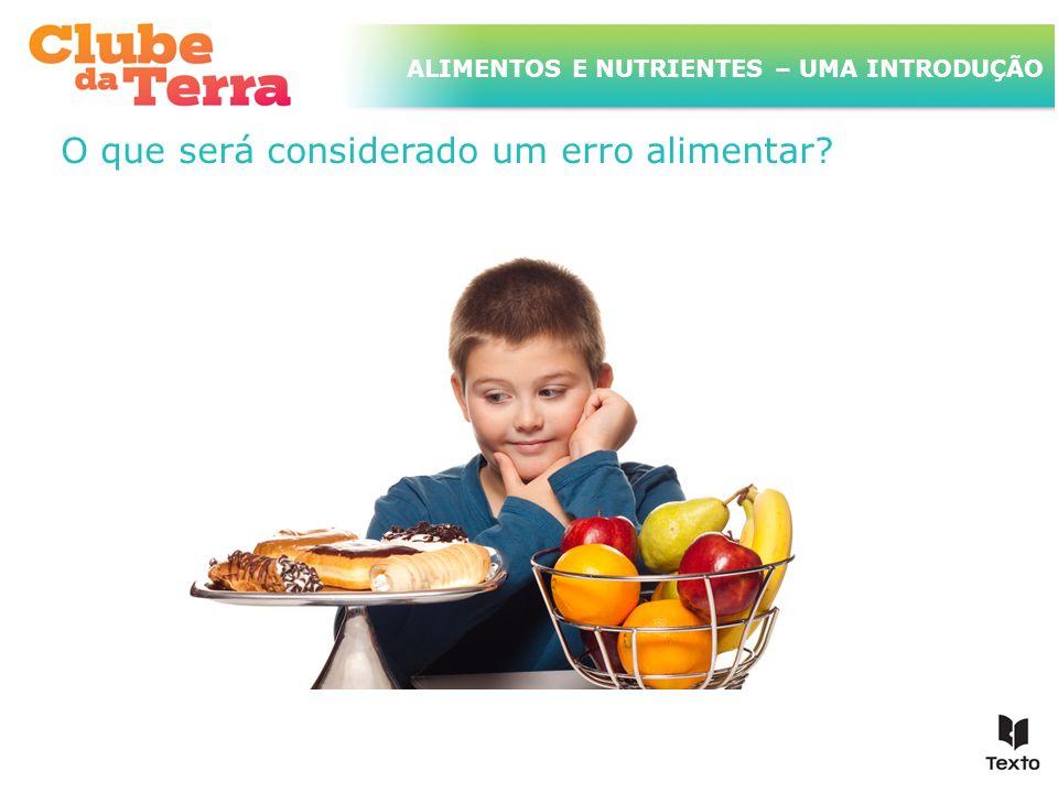TÍTULO DO ASSUNTO A SER TRATADO NESTE POWERPOINT QUE TEM UM TÍTULO GRANDE ALIMENTOS E NUTRIENTES – UMA INTRODUÇÃO Que consequências terão para a saúde os excessos alimentares?