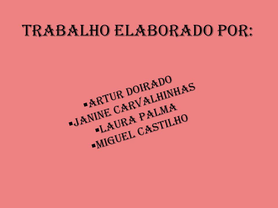 Trabalho Elaborado Por: Artur Doirado Janine Carvalhinhas Laura Palma Miguel Castilho