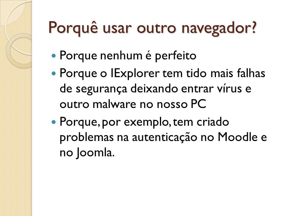 Interface do Firefox