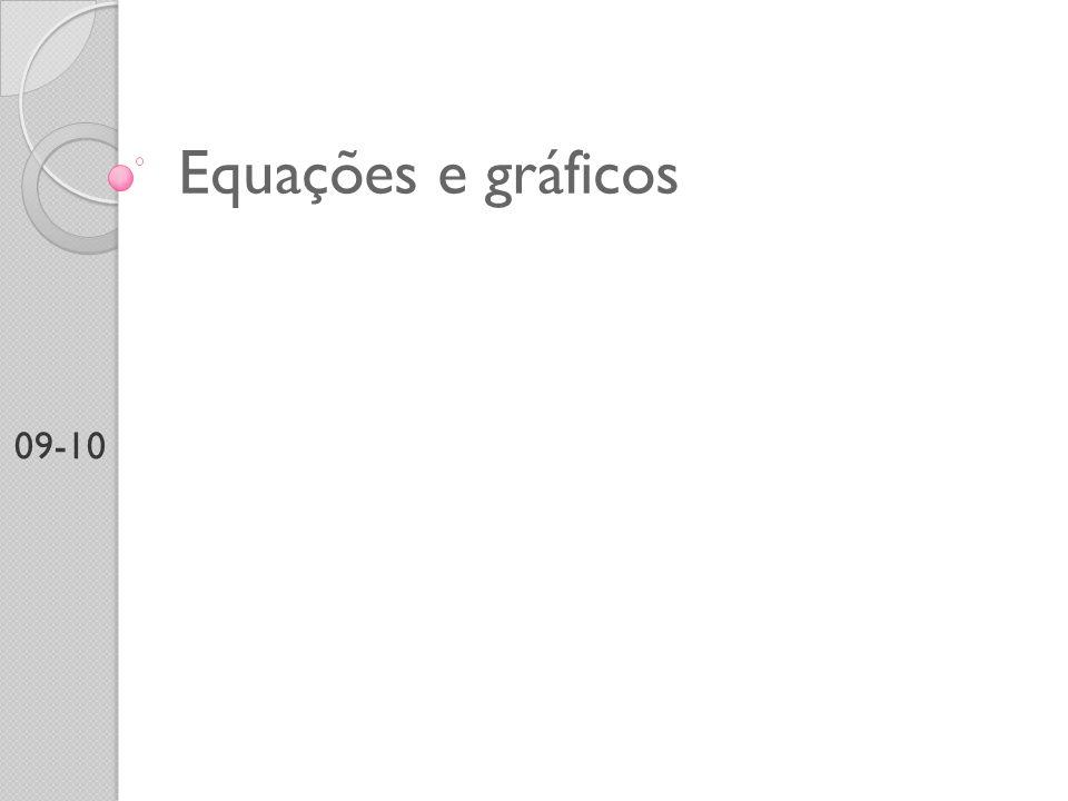 Equações e gráficos 09-10