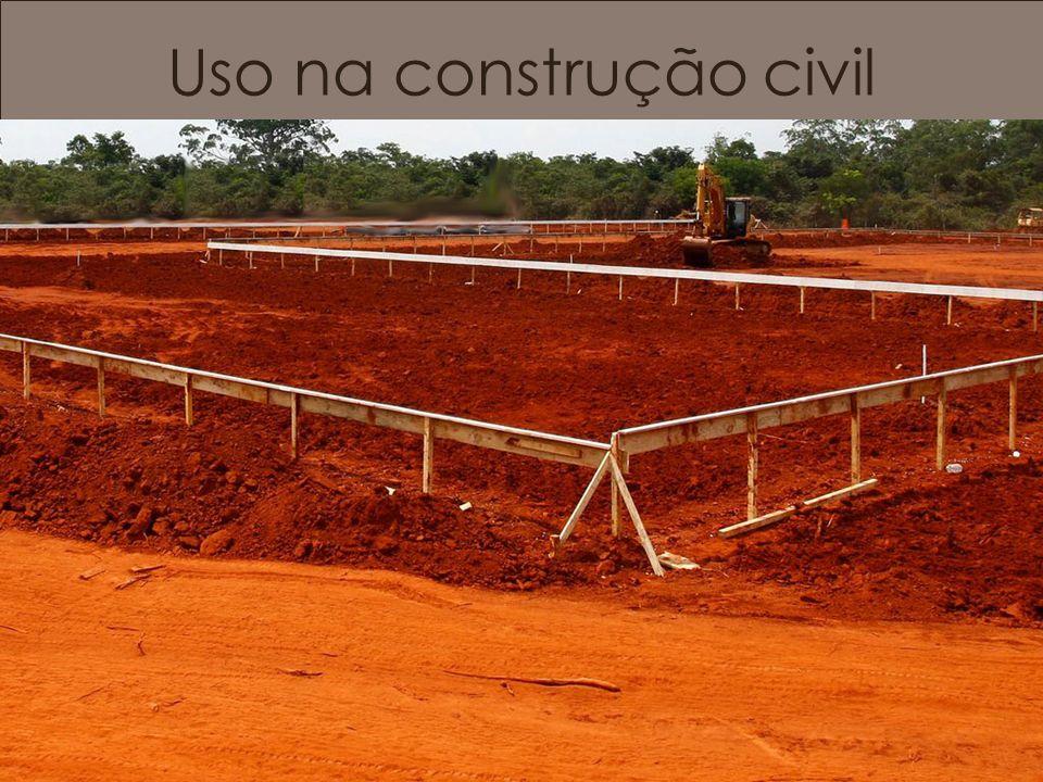 Uso na construção civil Gabaritos.
