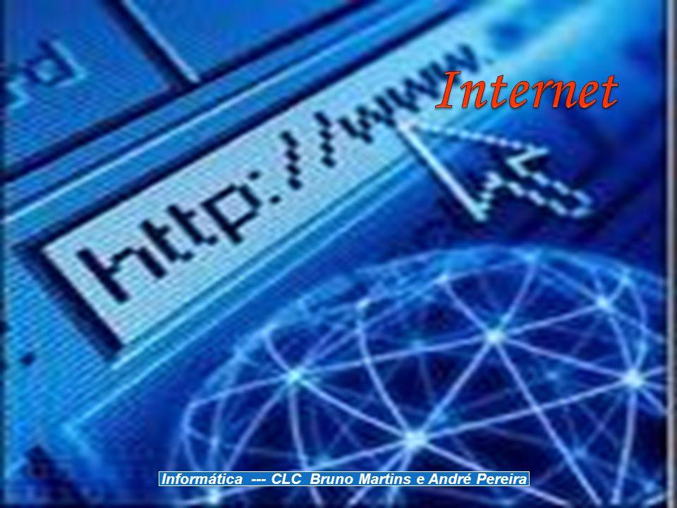 Perspectiva Histórica Pode-se estabelecer uma ligação entre a internet e o Departamento de Defesa americano, num contexto de plena guerra fria.