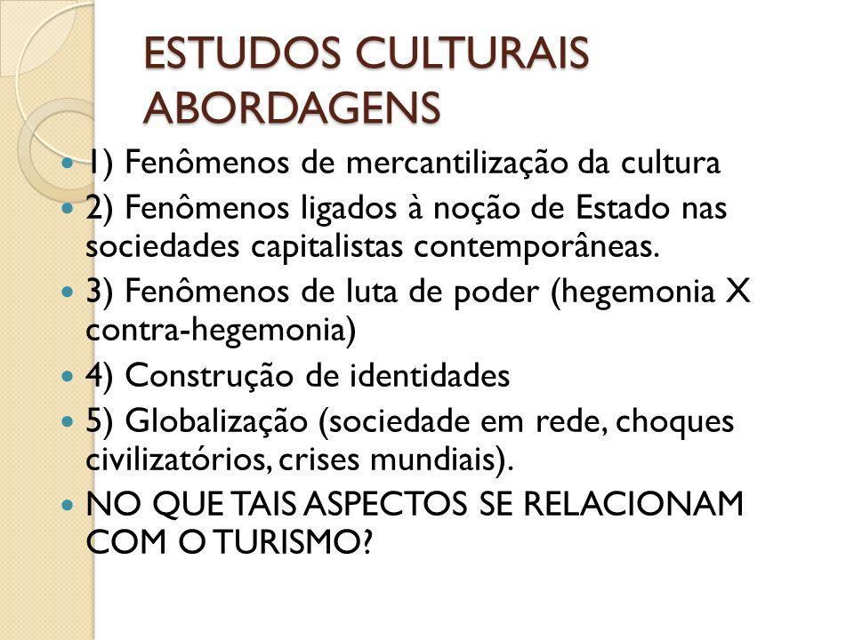 ESTUDOS CULTURAIS PRINCIPAIS PENSADORES CANCLINI – Culturas Híbridas Apresenta perspectiva pós-moderna e latino- americana da cultura, enfatizando como o continente evoluiu no contexto da Globalização.