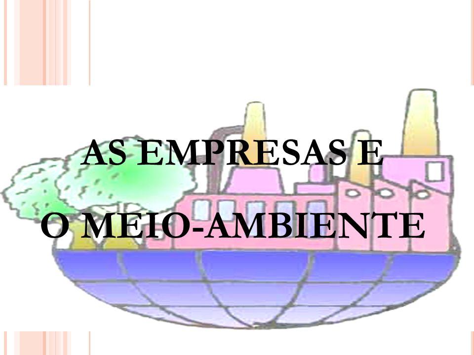 30 AS EMPRESAS E O MEIO-AMBIENTE