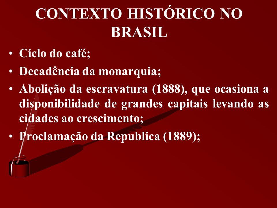 CONTEXTO HISTÓRICO NO BRASIL Campanhas abolicionistas, A Lei Áurea, A substituição da mão de obra escrava pela mão de obra assalariada, A Guerra do Pa