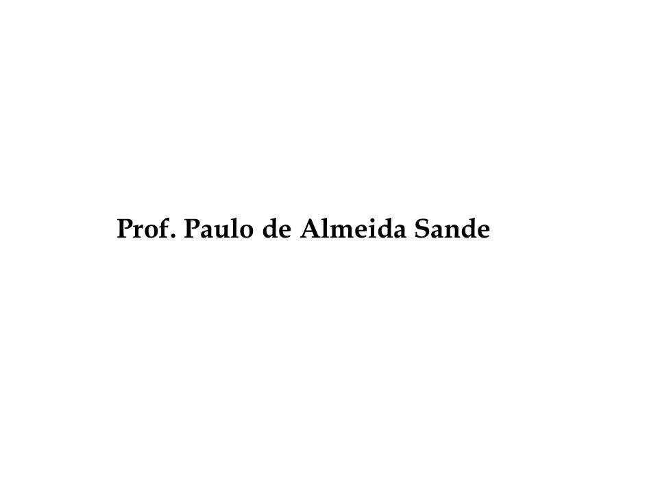 Prof. Paulo de Almeida Sande