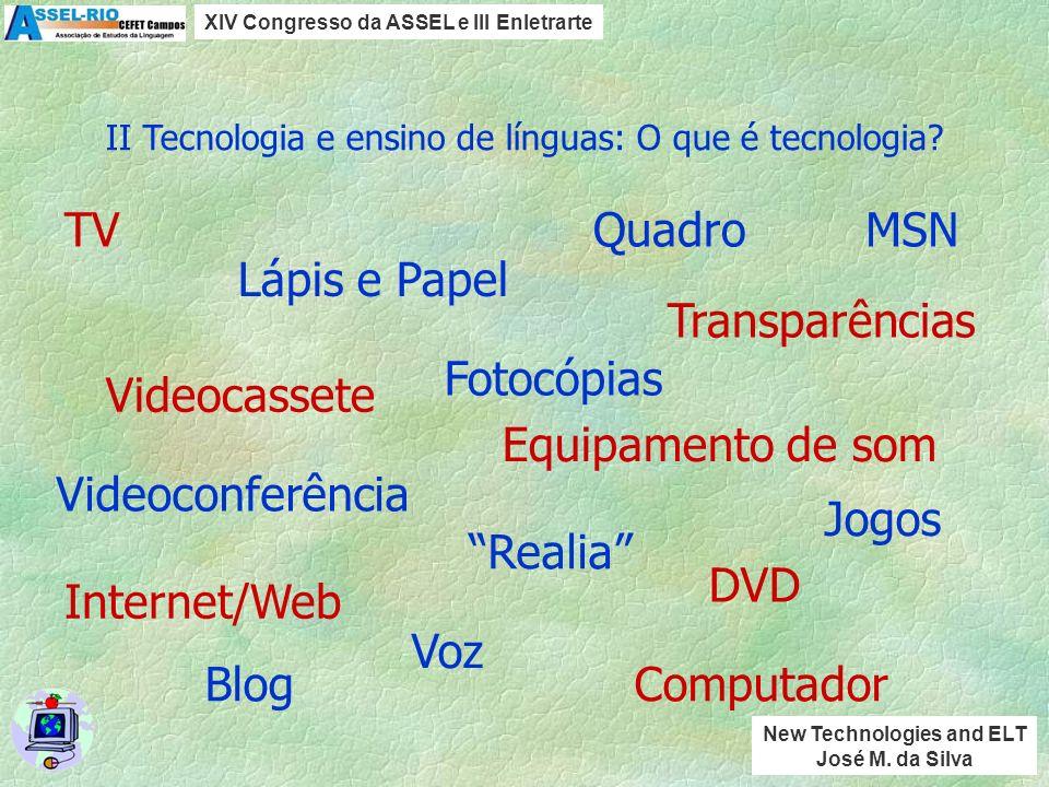 I Desconstruindo a tecnologia O que é desconstruir a tecnologia? (2) Utilizar os elementos e/ou o todo com a maior eficácia. (1) Dividir o todo em ele