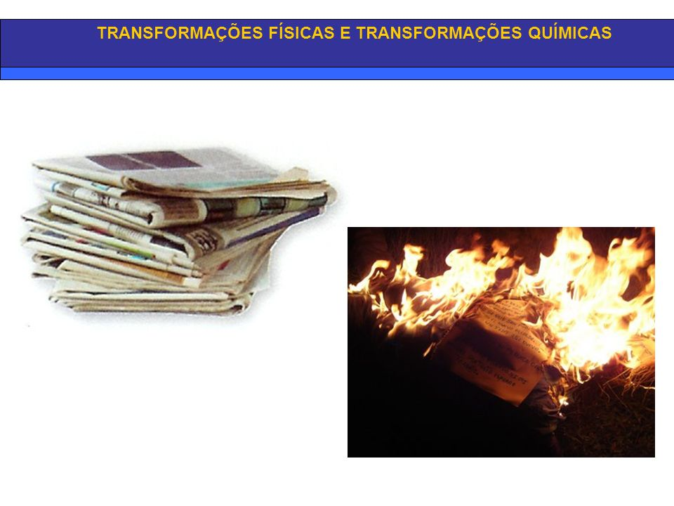 TRANSFORMAÇÕES QUÍMICAS A Transformação Química é uma transformação que conduz à formação de novas substâncias, podendo manifestar-se: através da libertação de um gás, mudança de cor, cheiro característico, chama ou ruído, ou uma variação da temperatura…