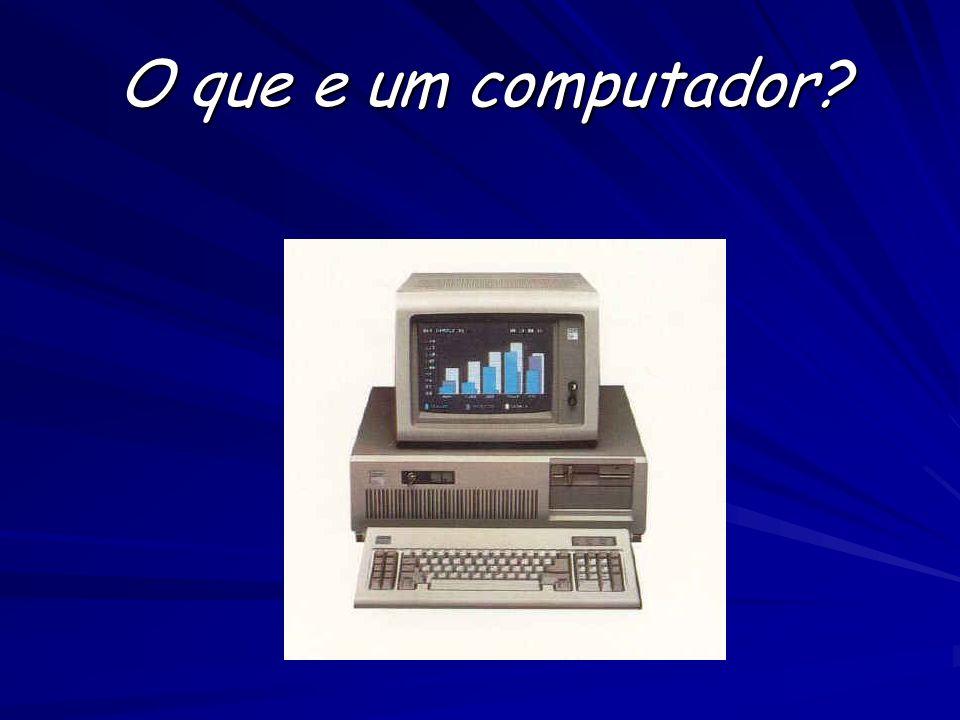COMPUTADOR O computador é uma máquina que processa informações electronicamente, na forma de dados e pode ser programado para as mais diversas tarefas.
