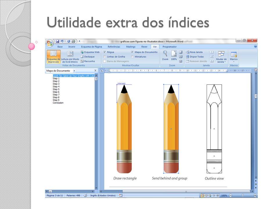 Utilidade extra dos índices