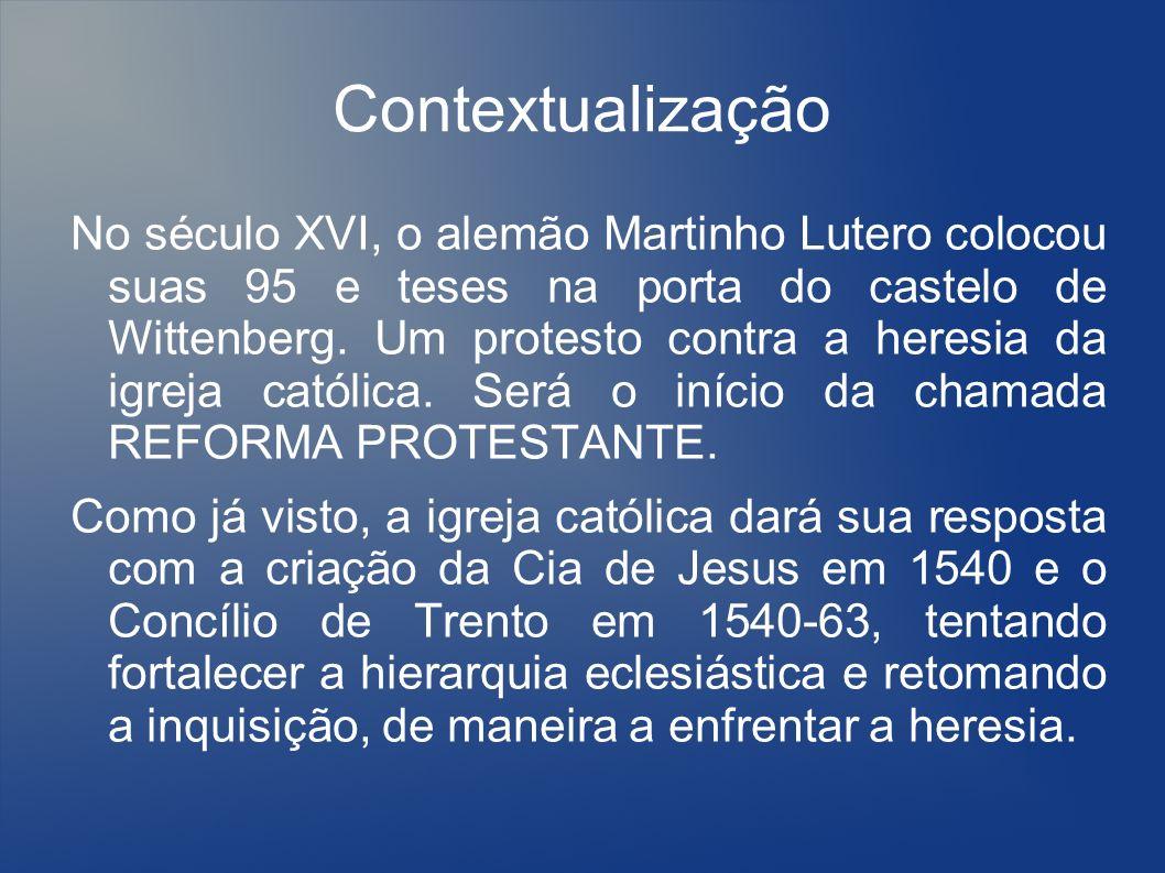 A companhia de Jesus Fundada em 1539, em Roma.Os primeiros padres desembarcaram na Bahia em 1549.
