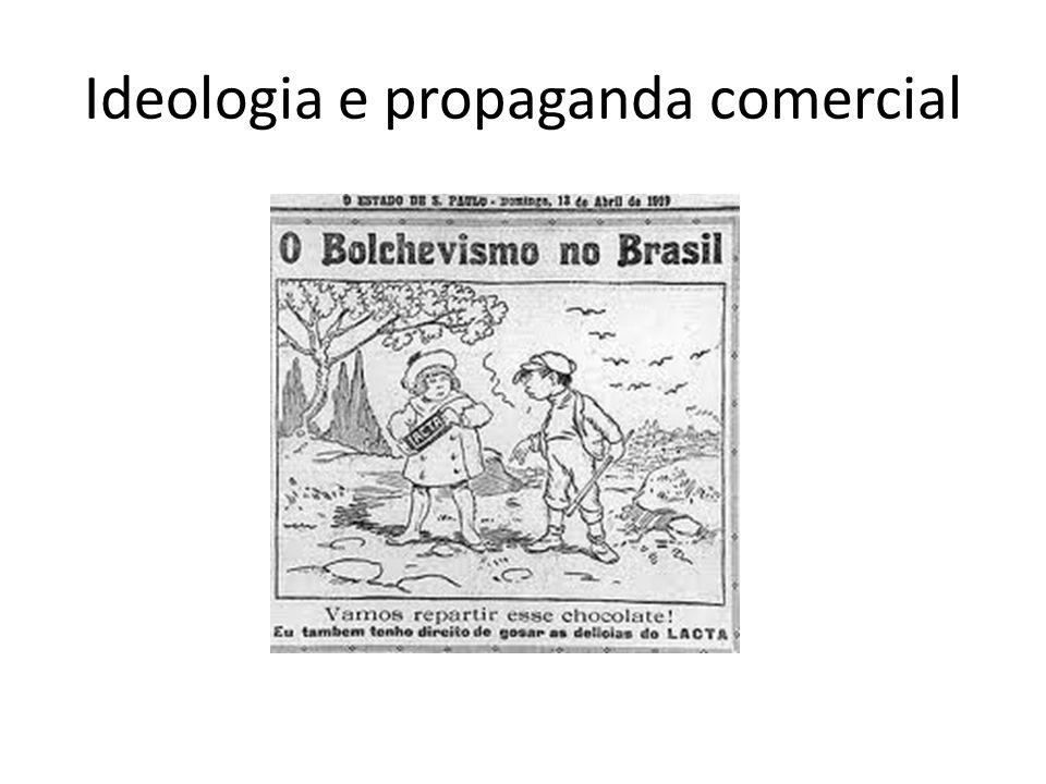 Ideologia e propaganda comercial