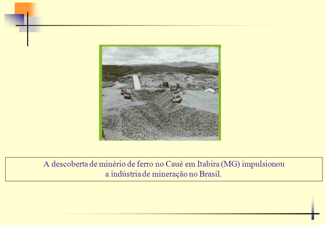 Mina e usina do Cauê em Itabira – MG operação pioneira tem hoje tecnologia de ponta da indústria minerária mundial.