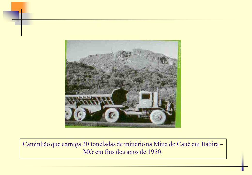 No Brasil, alguns gigantes que carregam 400 toneladas de minério tem sistema anticolisão desenvolvido na Vale no Canadá com tecnologia australiana.