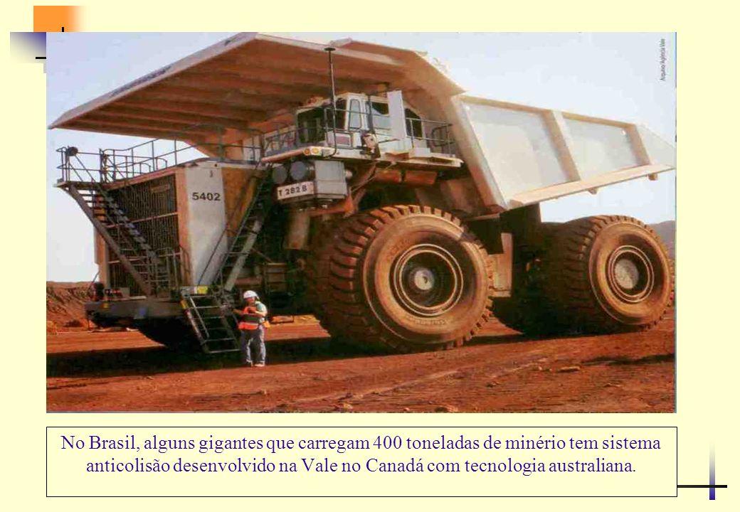 A descoberta de minério de ferro no Cauê em Itabira (MG) impulsionou a indústria de mineração no Brasil.